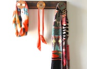 Wooden Textile spool Rack