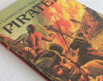 Vintage Book Journal / Pirates Rebound Journal / Recycled Book by PrairiePeasant