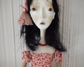 Jenny - Folk Art Doll by Evelyn's Wonderland