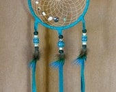 Tribal Teal Dreamcatcher...