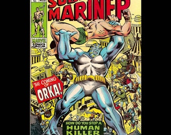 The Sub-Mariner No. 23 - Marvel Comic Book c. March 1970
