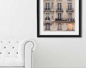 "Paris Print, ""Sunset Balconies"" Extra Large Wall Art, Paris Photography Art Print, Oversized Art, Fine Art Photography Paris Decor"