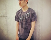 Mens Brooklyn T-shirt in Grey