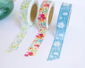 Washi Tape Set | Masking Tape | Floral | Katie Daisy | Office Supplies