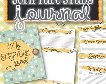 Scripture Journal - INSTANT DOWNLOAD