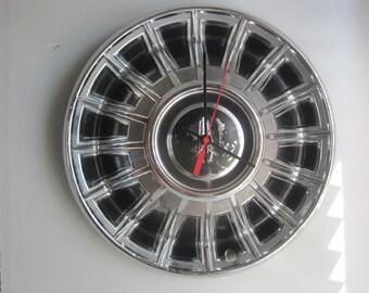 1969 Plymouth Hubcap Clock no.2064