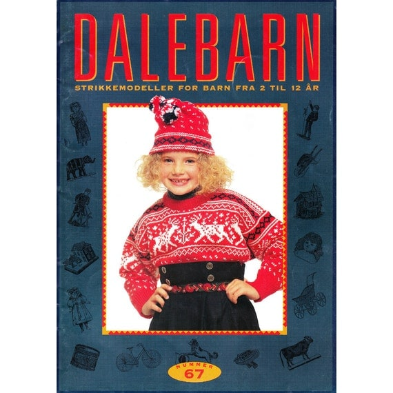 Dale Of Norway Knitting Pattern Books : Dale of Norway Dalebarn 67 Knitting Pattern Book Sweaters