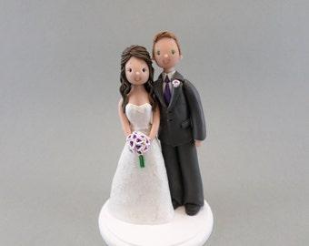 Bride & Groom Wedding Cake Topper