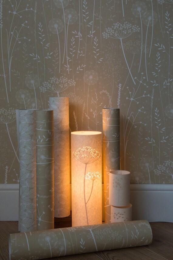 Paper Meadow Wallpaper Kraft