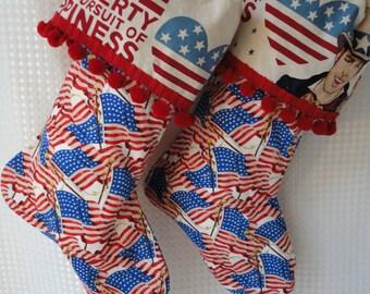 Flag Stockings