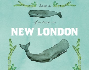 Have a Whale of a Time in New London