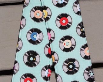 Camera Strap Cover- lens cap pocket and padding included- Geekly Chic Records