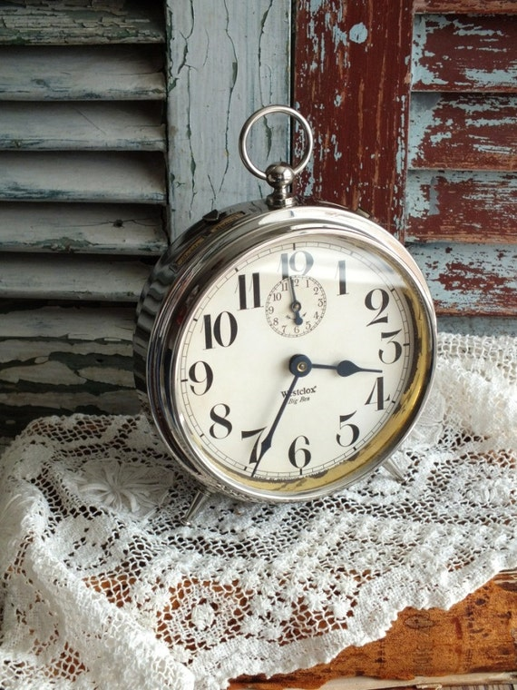 Vintage 1910 Westclox Big Ben Alarm Clock By Avintageobsession