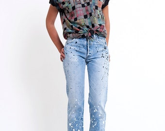 The Vintage Pastel Plaid Button Up Shirt