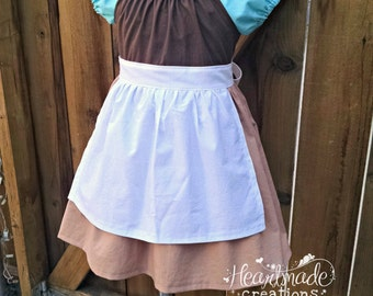 Cinderella - Cleaning Dress - Character Inspired Dress - Sizes 1/2 through 8