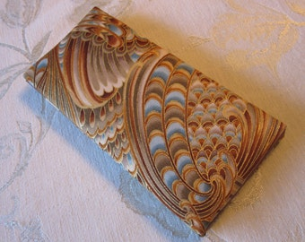 Brown Crescendo Large Magic Wallet