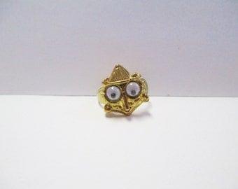 Vintage 90's Googly Eye Monster Ring DEADSTOCK