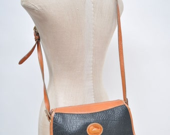 vintage leather bag DOONEY & BOURKE all weather leather shoulder bag purse