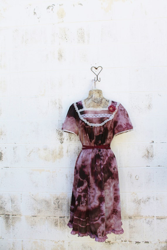 Reserved for DanielBur/Dress/Upcycled Dress/Large Dress/Plus Tie Dye Dress/Tie Dye Maxi Dress/Hippie tie Dye Dress/Fairy Dress/Burlesque