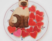 Kitty Love Gift Set Sugar Cookies Baked Goods
