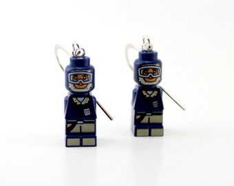 Han Solo Earrings made from Genuine Star Wars LEGO® Microfigs - LIMITED