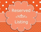 Reserved Listing for FeelingFree