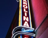 Carolina Theater at night - Durham, NC 4x6 postcard