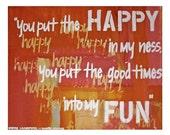 SALE Ben Harper Lyrics Print // Walk Away // Music Art Home Decor // Gift for Special One // Art Print // Abstract Wall Decor // Game Room