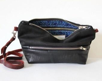 ELLA crossbody bag, leather everyday bag cross body