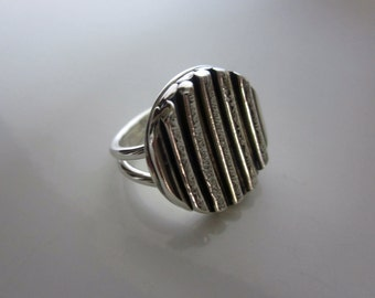 Bella's Beautiful Sterling Bar Ring