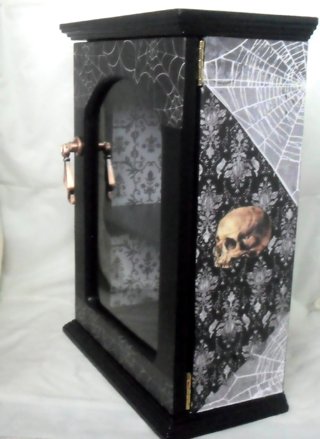 Gothic Display Cabinet Gothic Home Decor Skull Decor