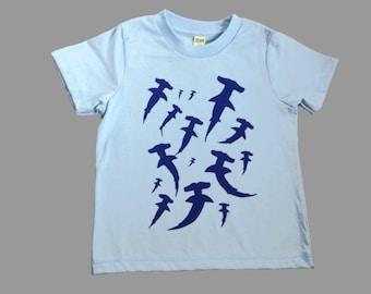 Hammerhead Shark Kids Organic T Shirt