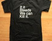 Predator One Liner Helvetica Shirt American Apparel