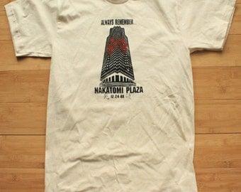 Die Hard Remember Nakatomi Plaza Shirt American Apparel