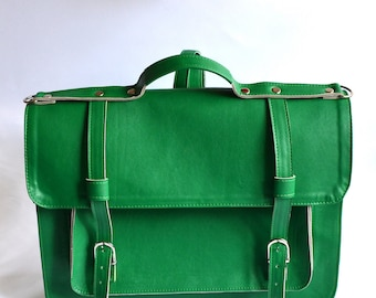 Backpack Vegan satchel (Handmade to order)