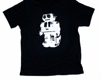 Corporate Robot - Mens Tshirt - Vintage Robot - Robot Illustration - Robot Tshirt - Mens Robot Shirt - Small, Medium, Large, XL, 2X, 3XL