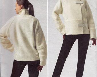 GUY LAROCHE Jacket & Pants Pattern Vogue V 1335 Vogue Paris Original Out Of Print Sewing Pattern Size 6 - 14 Uncut Factory Folded