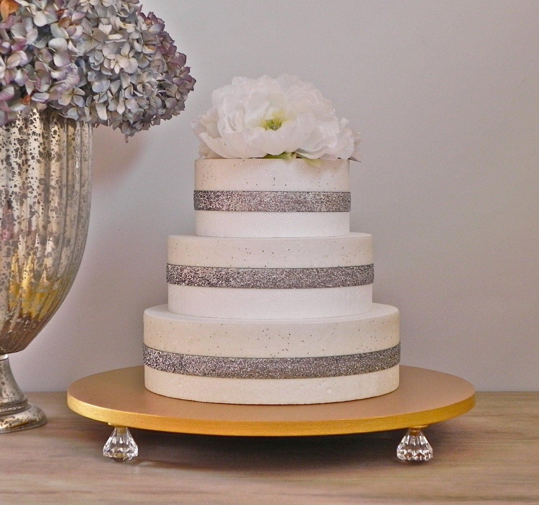 Cake Stand Gold 16 Wedding Cake Stand Gold Metallic Cake