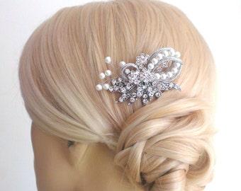 Bridal comb,bridal Haircomb,wedding comb,bridal hair accessories, crystal hairpiece,crystal comb set with Swarovski crystals
