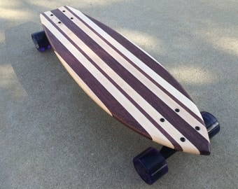 "Mini Cruiser Skateboard  - ""Maui"" solid wood"