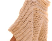 Instructions to make: the Crochet Brioche Sweater PATTERN PDF