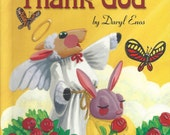 Personalized childrens Prayer book Let Us Thank  GOD  religious for children  Ships in 24 hours Now also in two other languages