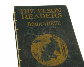 1920 FAIRY Vintage Notebook Journal