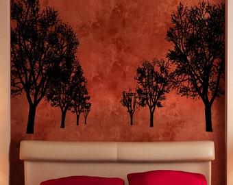 Vinyl Wall Decal Sticker Tree Trail 5306s