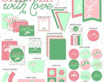 Shower With Love Baby Shower PRINTABLE Party by Love The Day
