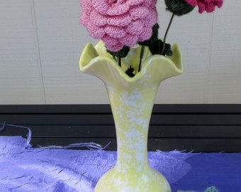 Beautiful Crocheted Flowers