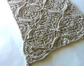 US Terms Iseult Table Runner, Placemat or Bedspread  PDF Crochet Pattern