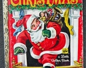 """vintage """"The Night Before Christmas"""" little golden book"""
