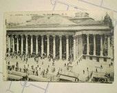 Paris - La Bourse - Early 1900s - Antique French Postcard