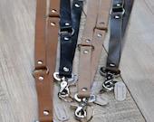 Leather Lanyard Keychain - Lanyard - Keychain -